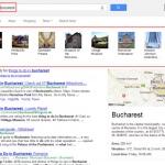 Bucuresti, București sau Bucharest au același rezultat