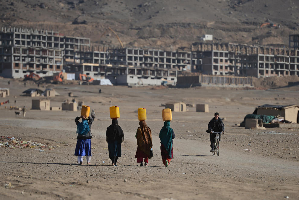 Kabul on November 30, 2012. (Massoud Hossaini/AFP/Getty Images)