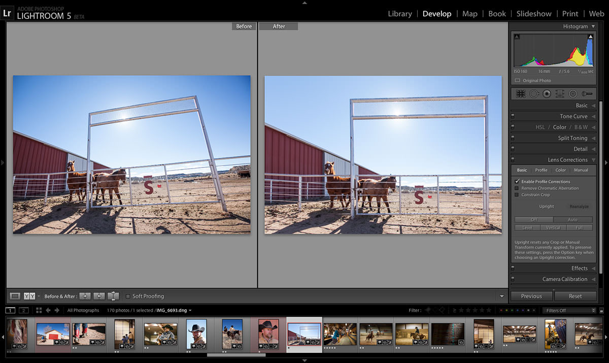 Modul de îndreptare automată imagini