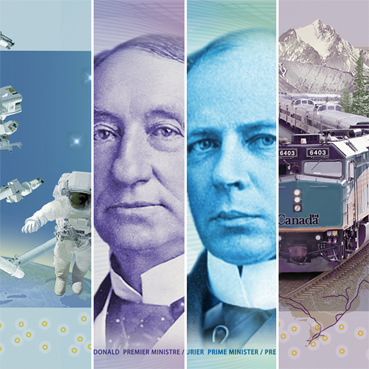 Canada new polymer banknotes