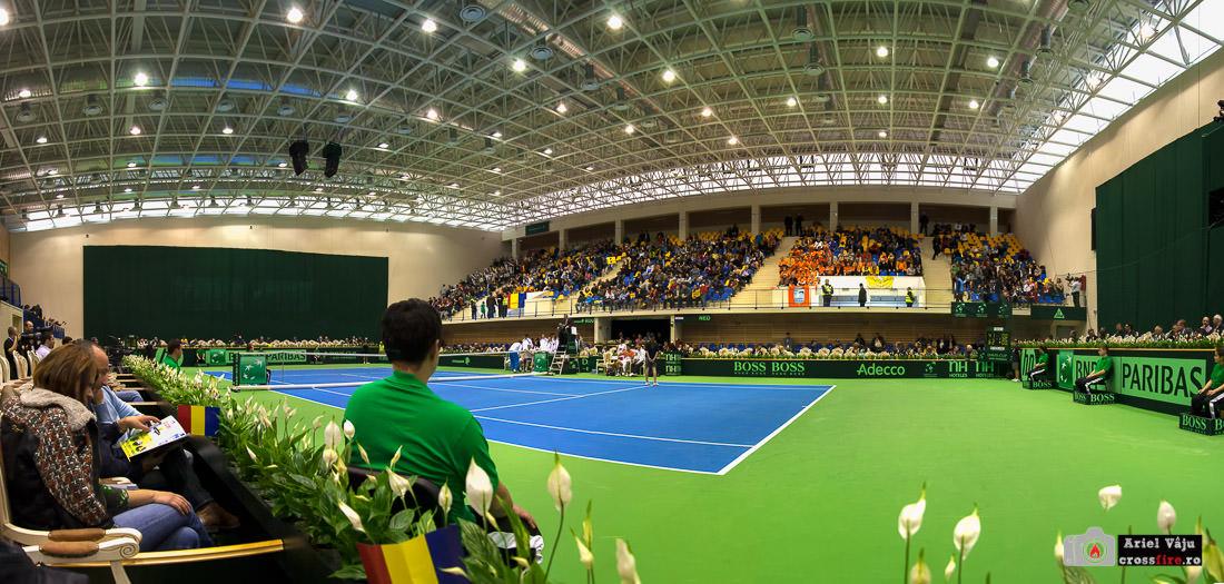 Cupa Davis Brașov 2013 - panoramă interioară
